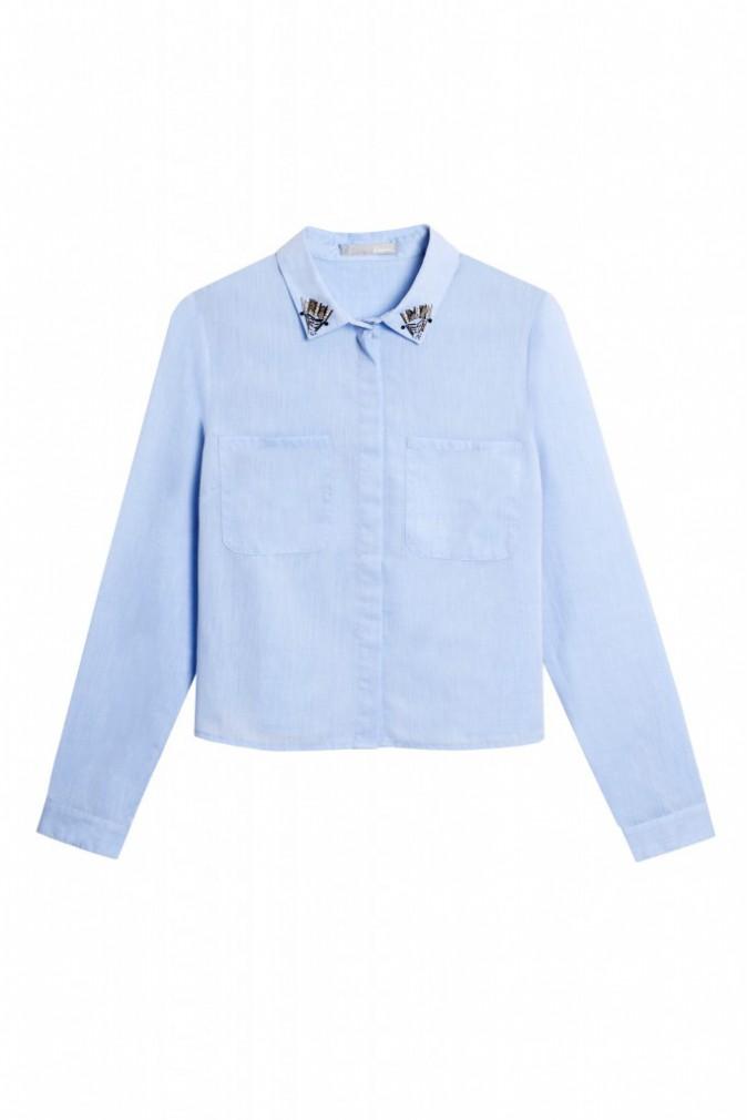 Chemise courte et col bijoux, Etam 39,95 €