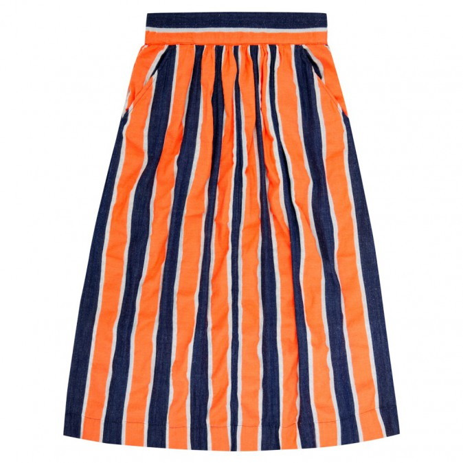 Jupe mi-longue rayée, Urban Outfitters 241€