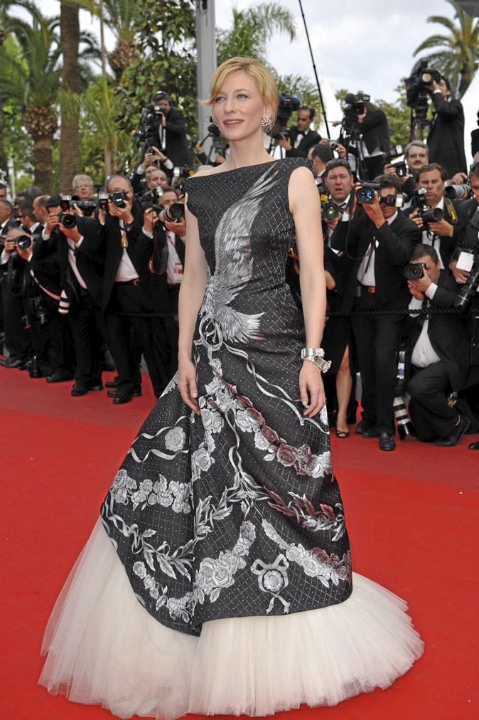 Festival de Cannes 2010 : la robe Alexander McQueen de Cate Blanchett
