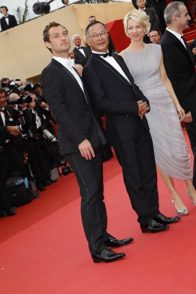 Jude Law sur le tapis rouge du Festival de Cannes, le 11 mai 2011.