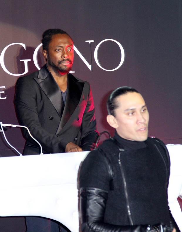 Les Black Eyed Peas lors de la soirée De Grisogono à Cannes, le 17 mai 2011.