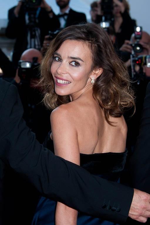 Elodie Bouchez, trop contente d'être à Cannes !