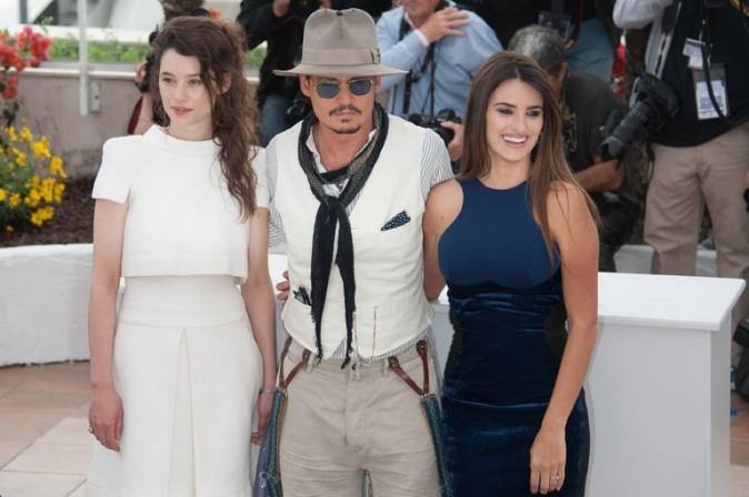 Astrid Bergès-Frisbey, la petite française, Johnny Depp et Penelope Cruz : un joli plateau de stars !