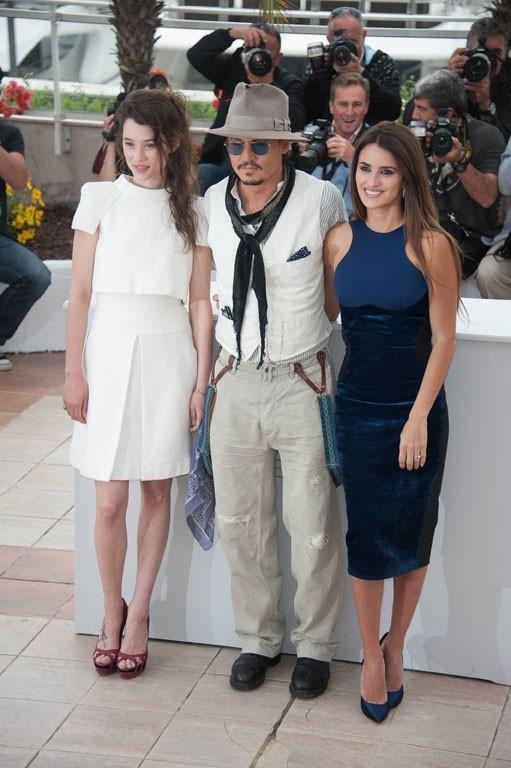 Le trio très glamour du photocall de cet après-midi...