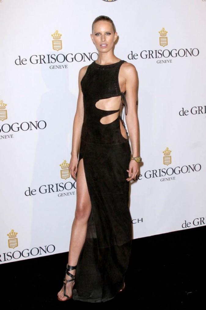Karolina kurkova lors de la soirée De Grisogono à Cannes, le 17 mai 2011.