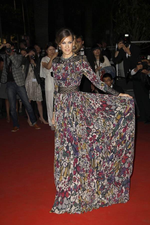 Sarah Jessica Parker, première fan de sa robe !