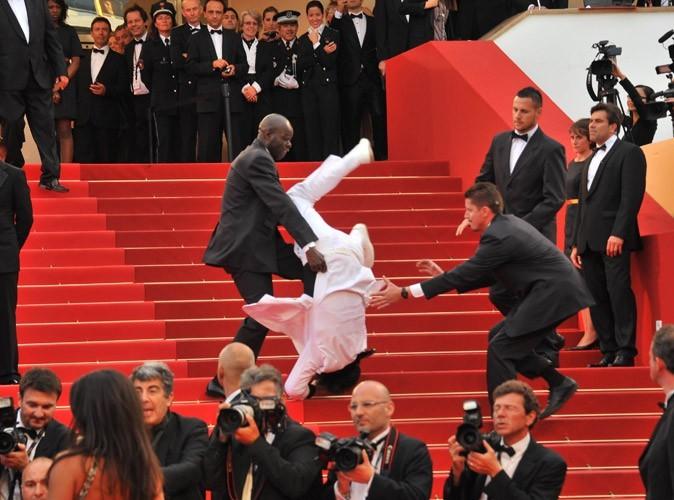 Photos : Cannes 2011 : un fan qui se vautre...