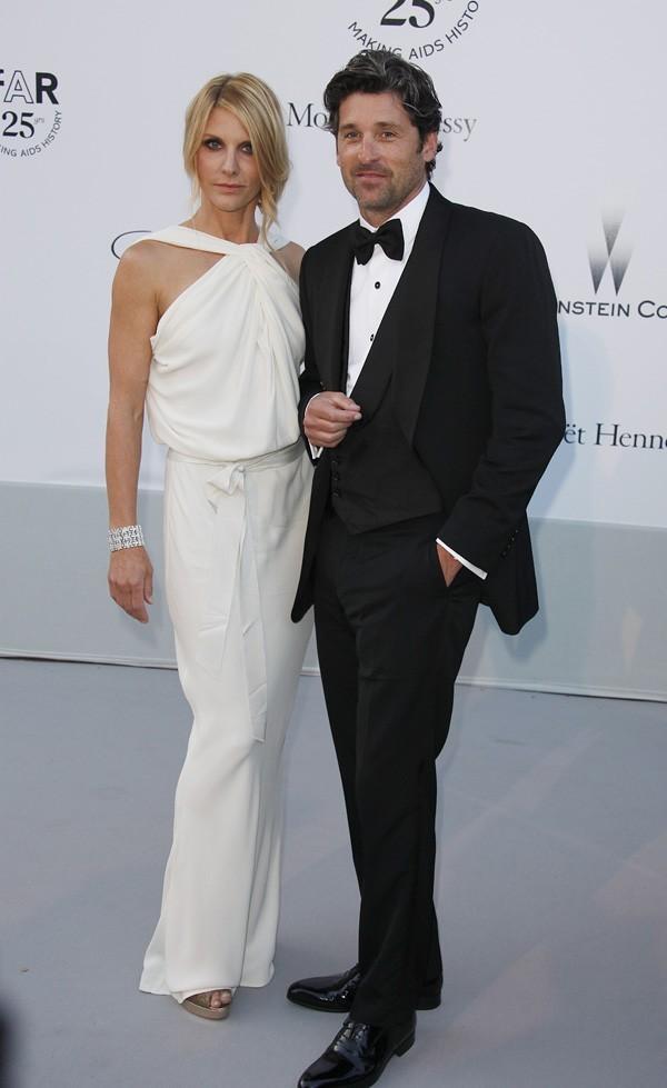 Patrick Dempsey et sa femme !