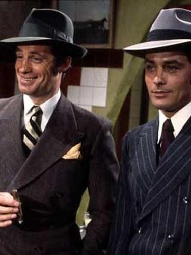 En gangster de charme dans Borsalino avec Alain Delon