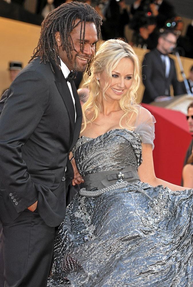 Cannes 2010 : le couple de stars Adriana Karembeu et Christian Karembeu, séparés depuis le 9 mars 2011
