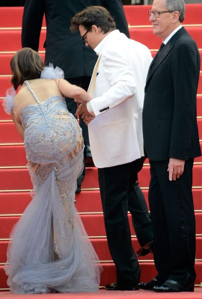 """Photos : Cannes 2011 : """"Pené t'abuses, tout le monde nous regarde !"""""""