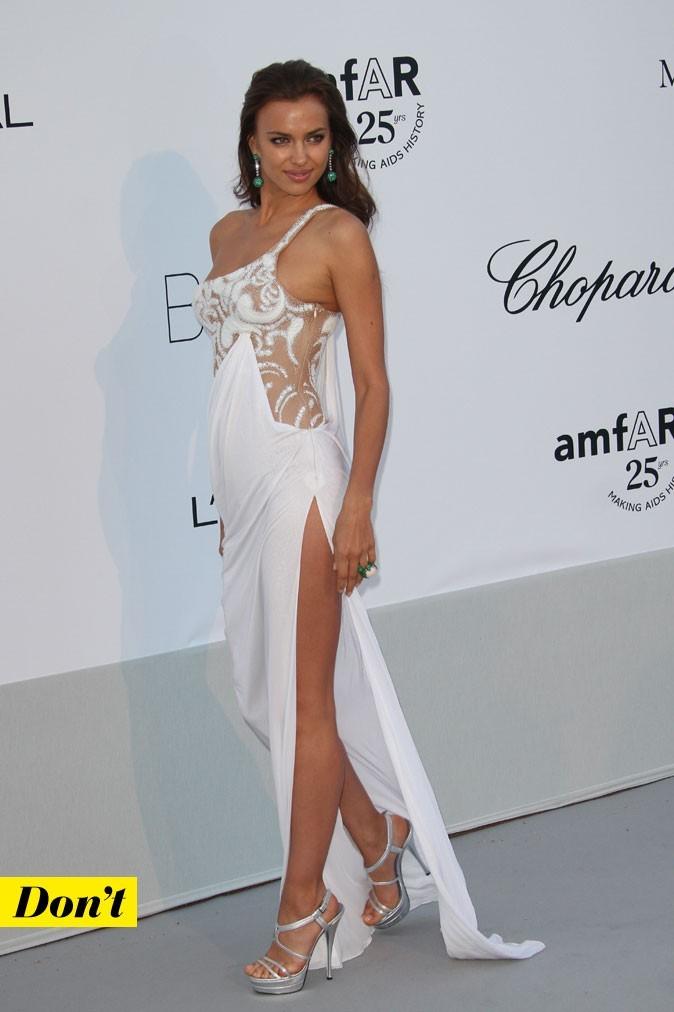Festival de Cannes 2011 : la robe blanche très sexy d'Irina Shayk