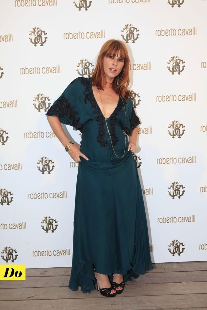 Festival de Cannes 2011 : la robe longue vert profond de Cécile Togni