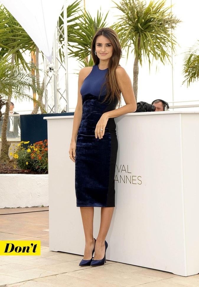 Festival de Cannes 2011 : la robe tube Stella McCartney de Penélope Cruz