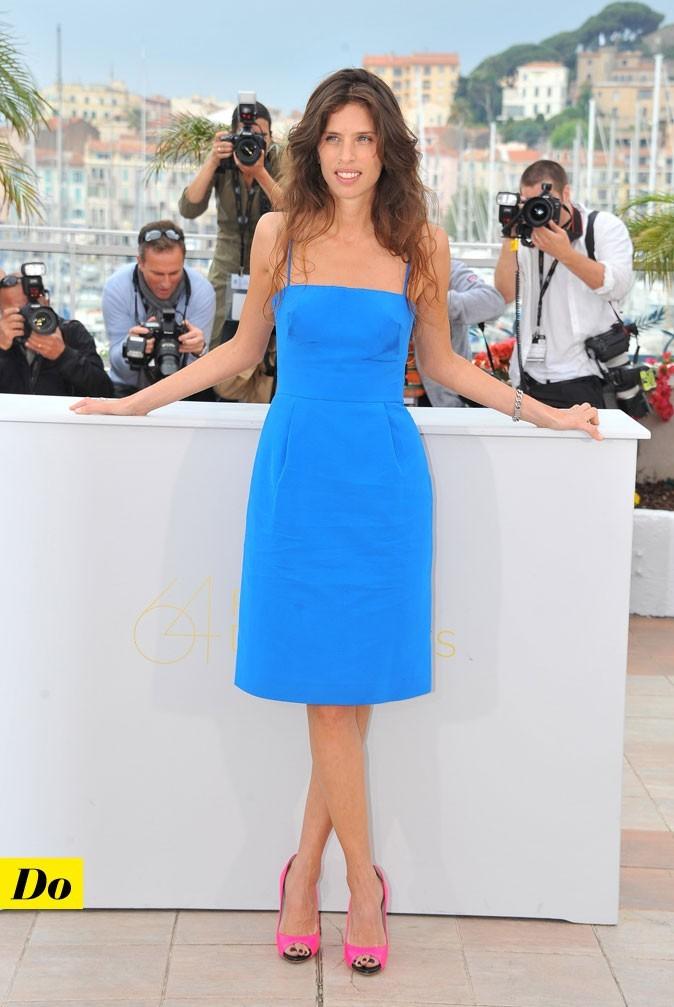 Festival de Cannes 2011 : le look color block de Maïwenn Le Besco