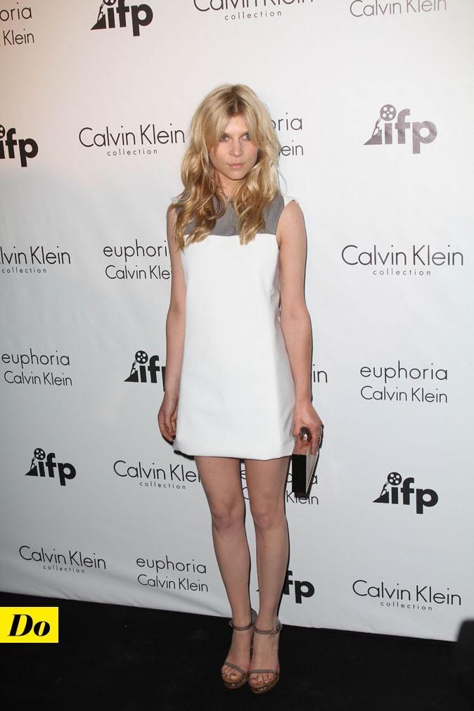 Festival de Cannes 2011 : le total look Calvin Klein de Clémence Poésy
