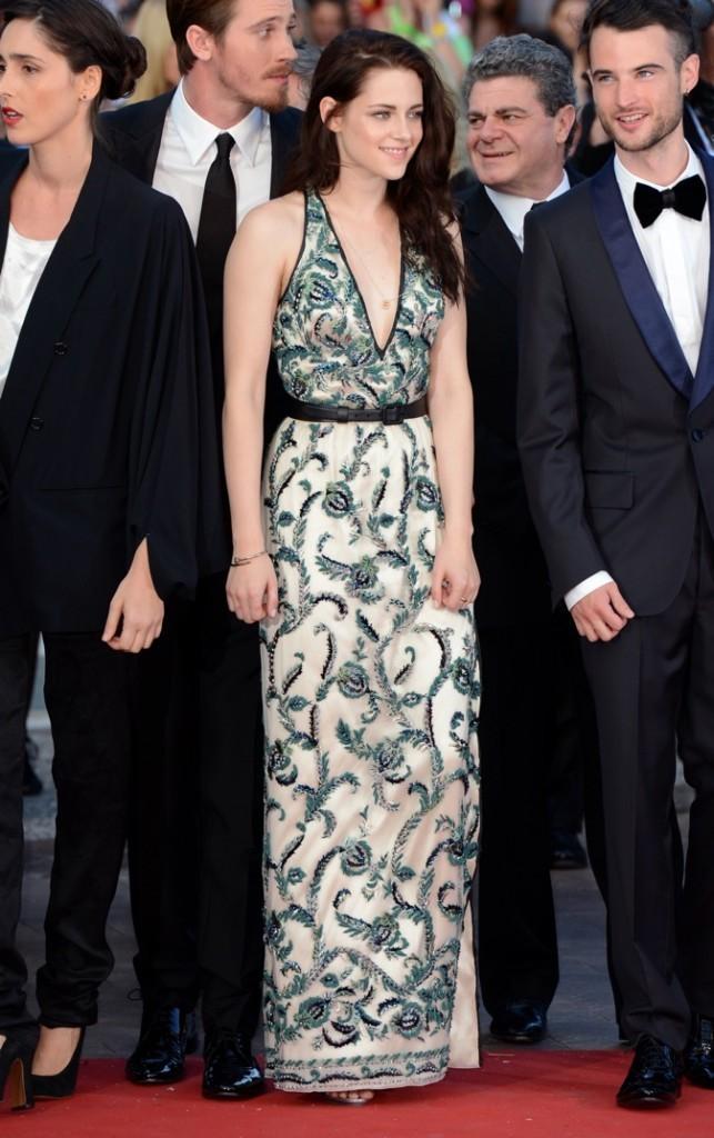 Kristen Stewart en Balenciaga (mercredi 23 mai)