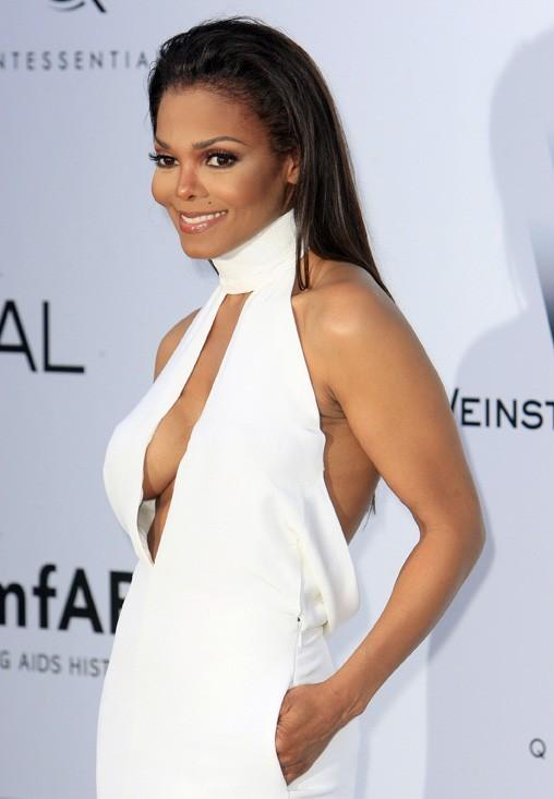 Janet Jackson au gala de l'amfAR 2012