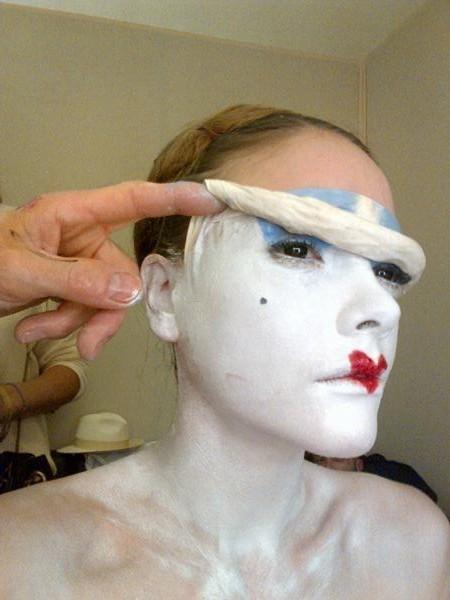 Sympa le maquillage...