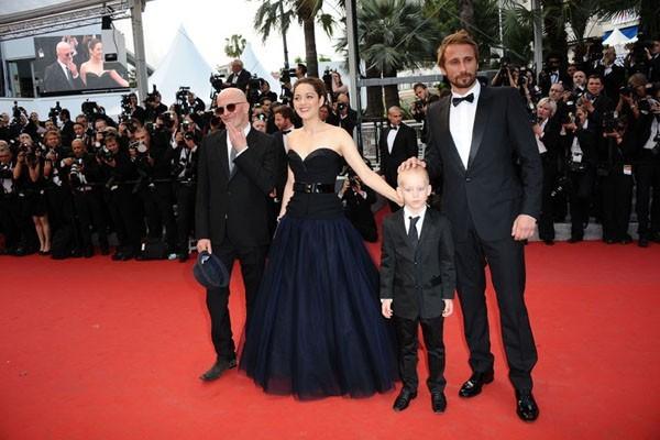 Cannes 2012 : Marion Cotillard : de beauté et de grâce !