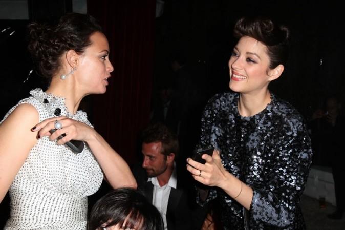 Avec Bérénice Béjo !