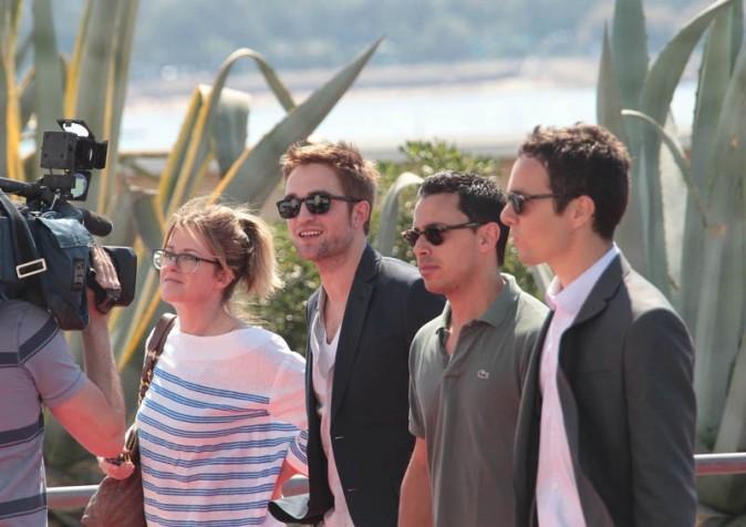 Robert Pattinson au photocall de Cosmopolis !