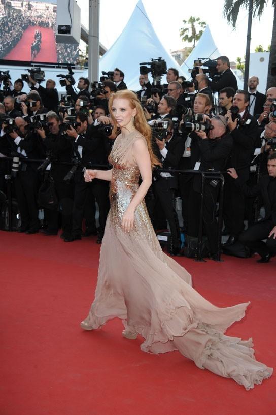 Photos : Cannes 2012 : Shia Labeouf, Tom Hardy et Jessica Chastain : le sourire c'est en option !