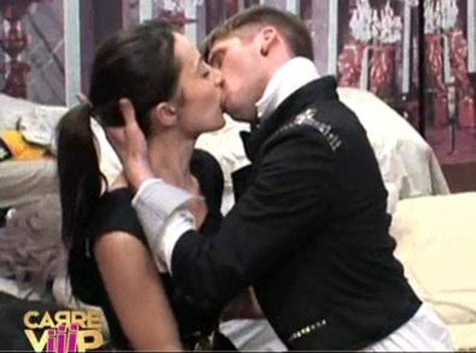 Carré Viiip : Quand Benoît embrasse Alexandra, c'est chauuud !
