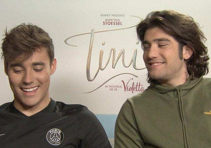 Interview Vidéo : Tini : La Nouvelle Vie de Violetta : Les conseils séduction de Jorge Blanco et Adrian Salzedo !