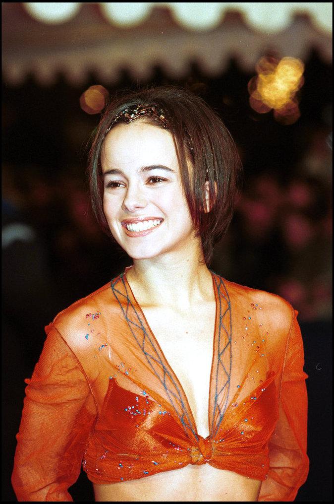 Alizée aux NRJ Music Awards à Cannes en 2001