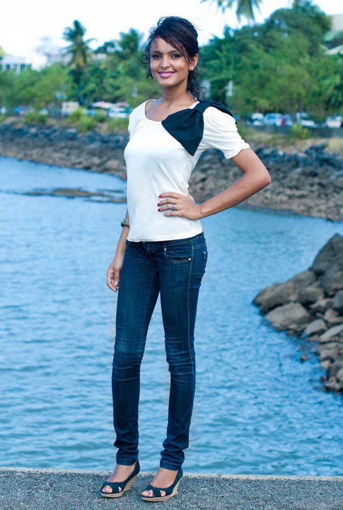 Photos : découvrez Miss Mayotte, Aisha Ahmed !