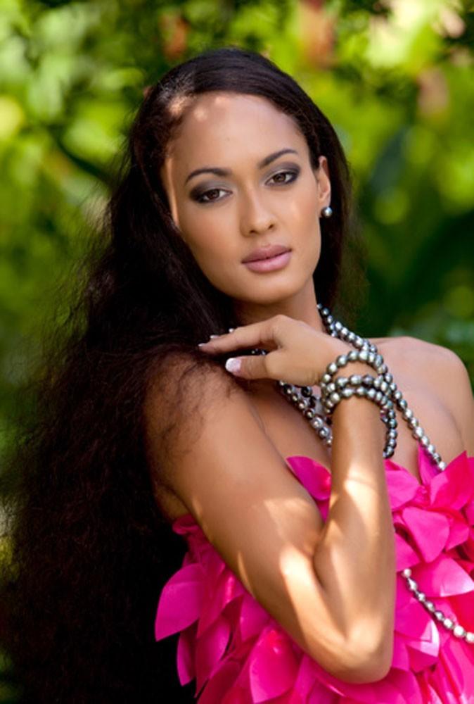 Photos : découvrez Miss Tahiti, Rauata Temauri !