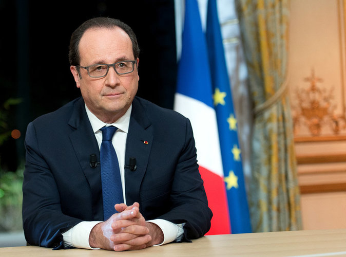 Retour en images sur les moments forts de François Hollande à l'Elysée