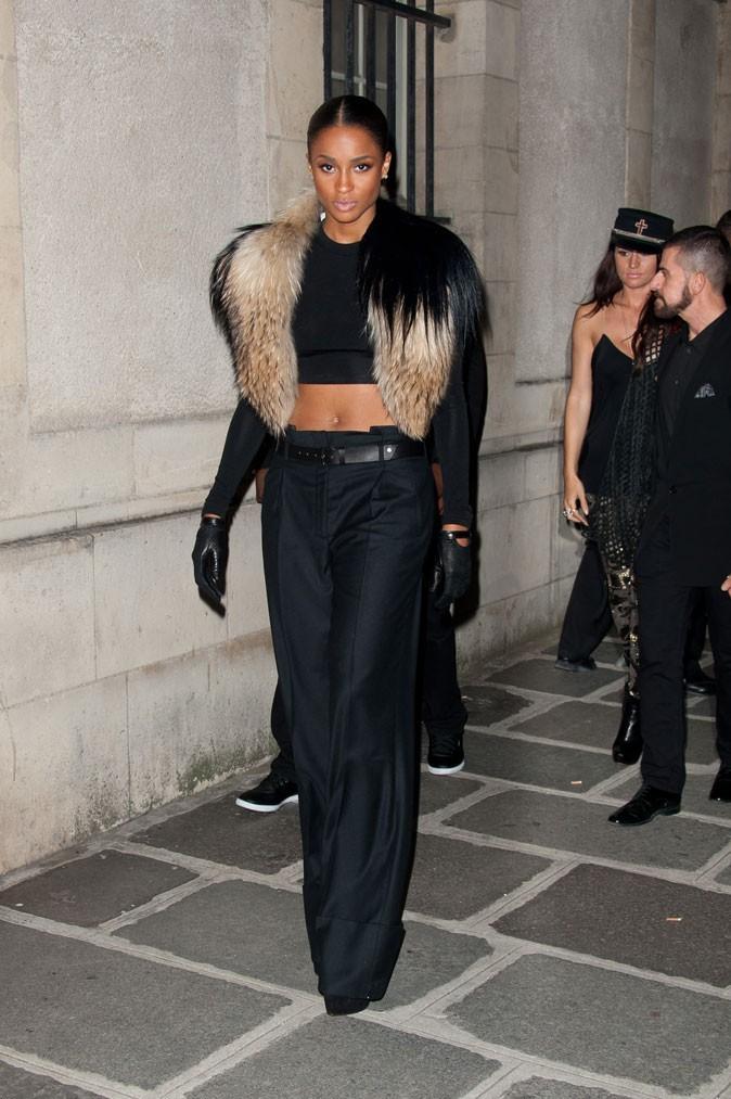 Défilé Kanye West : Ciara