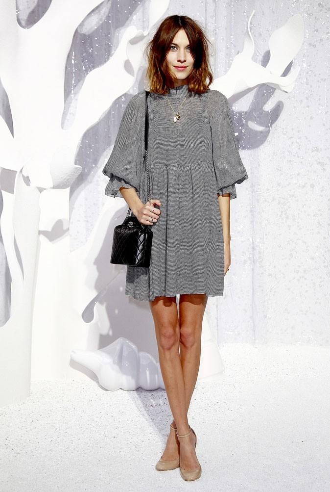 Défilé Chanel : Alexa Chung