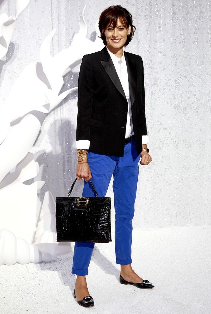Défilé Chanel : Inès de la Fressange