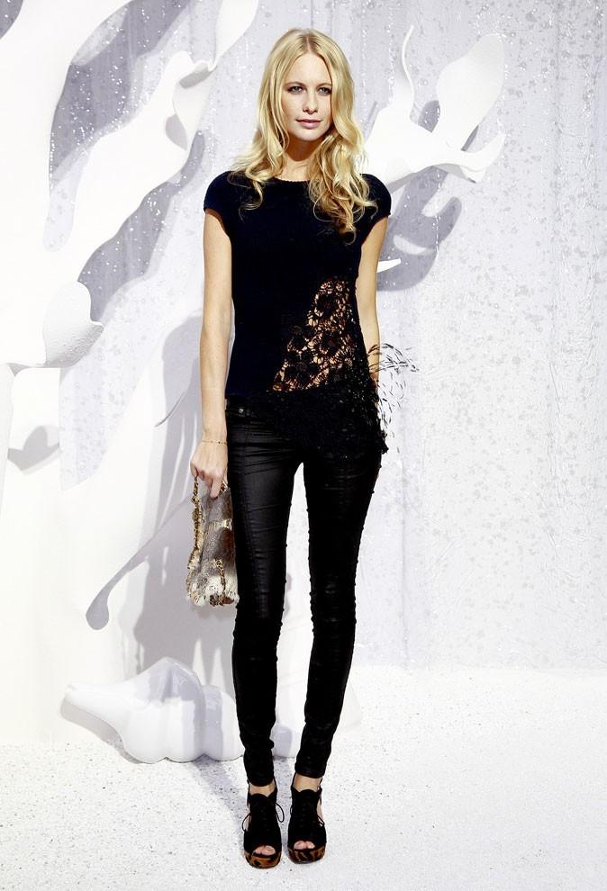 Défilé Chanel : Poppy Delevigne