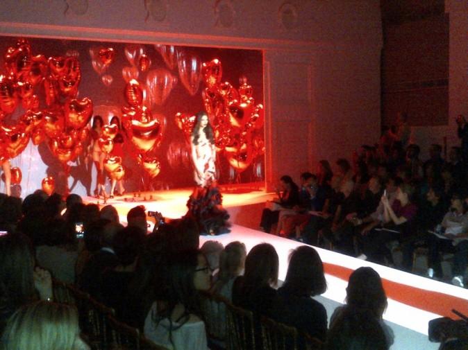 Défilé Zahia Couture hiver 2013