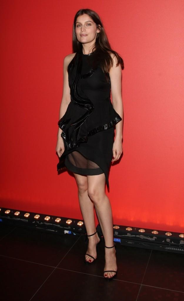 Laetitia Casta à la soirée Givenchy