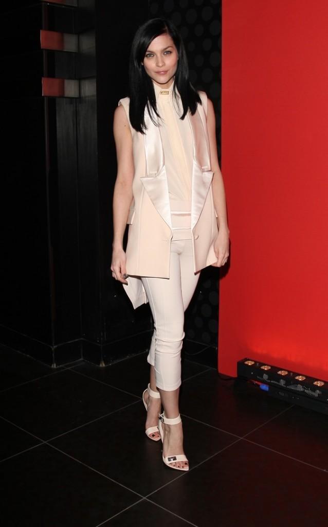 Leigh Lezark à la soirée Givenchy