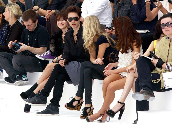 Jared Leto en mode front row