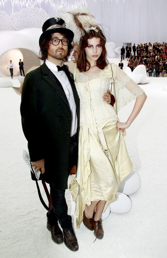 Sean Lennon et Charlotte Kemp