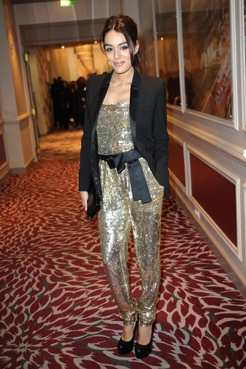 Sofia Essaïdi au défilé Zuhair Murad hier soir