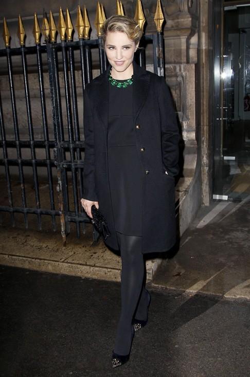 Dianna Agron à la soirée Louis Vuitton