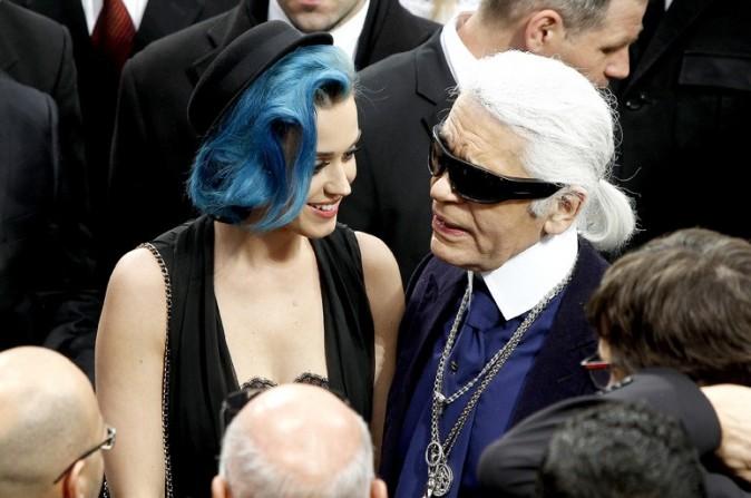 Karl fera-t-il bientôt de Katy une égérie Chanel ?