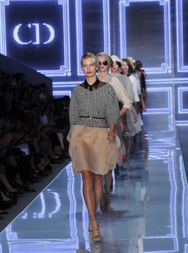 Le défilé Dior été 2012