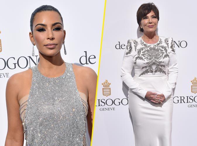 Cannes 2016 : Kim Kardashian et Kris Jenner : Duo m�re-fille styl� � une soir�e Cannoise