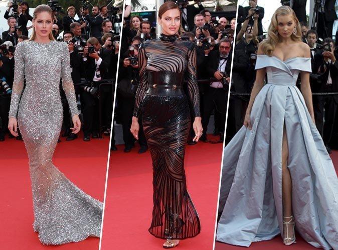 Cannes 2017 : Doutzen Kroes, Irina Shayk, Elsa Hosk... Tous les plus beaux looks du tapis rouge !