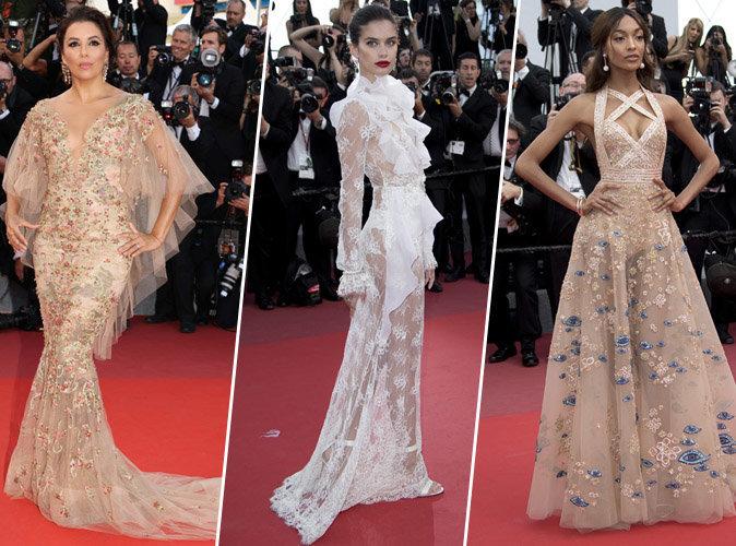 Cannes 2017 : Eva Longoria, Sara Sampaio, Jourdan Dunn... Tous les plus beaux looks du tapis rouge !