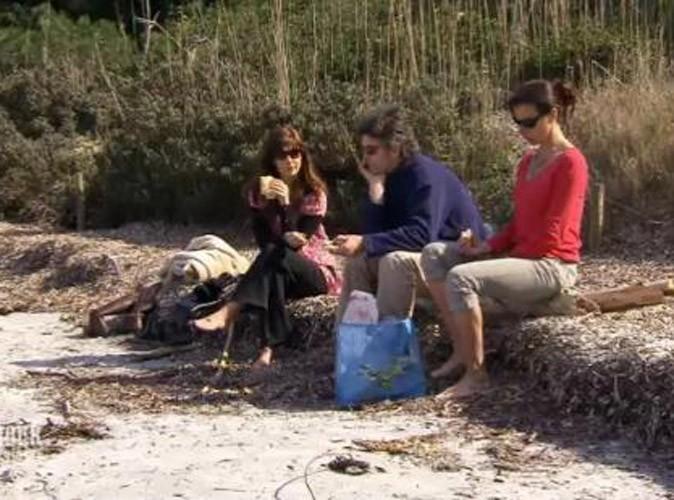 Photos : Alexis compte rester ami avec Carole et Joëlle...
